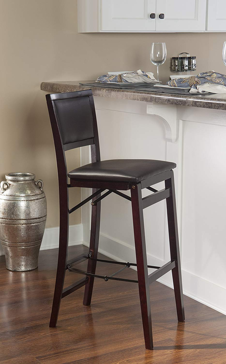 Kitchen-Bar-Chairs-Leather-Cheap-Dark-Brown-Espresso-Color