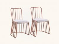 Rose-Gold-Kitchen-Chairs-With-Padded-Seats-Glam-Seating-For-Dining-Table