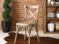 Rustic-Distressed-Wood-Kitchen-Chair-Burlap-Seat-For-Farmhouse-Decor