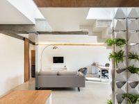 Silver-floor-lamp
