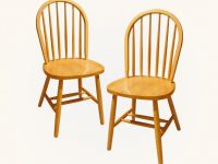 Spindle-Back-Oak-Kitchen-Chair-Solid-Wood-Light-Finish-Traditional
