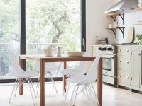 White-Kitchen-Chair-With-Padded-Seat-And-Metal-Legs-Easy-Wipe