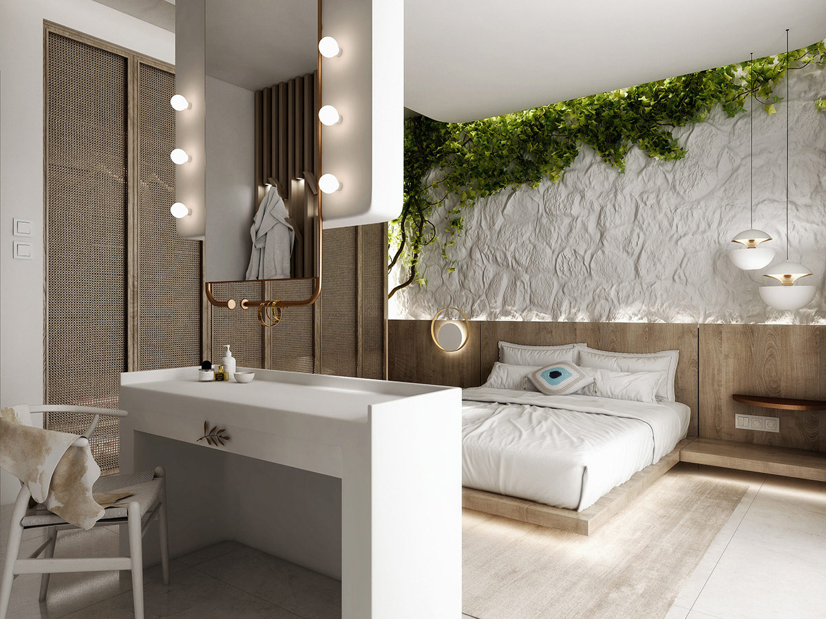 bedroom-with-plants