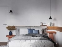 black-bedroom-pendant-lights