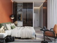 orange-and-green-bedroom-decor