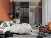 orange-and-green-bedroom-decor