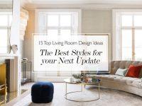 15 Of The Best Living Room Decor Ideas: Update Your Living Room Design with Modern Living Room Furniture Ideas