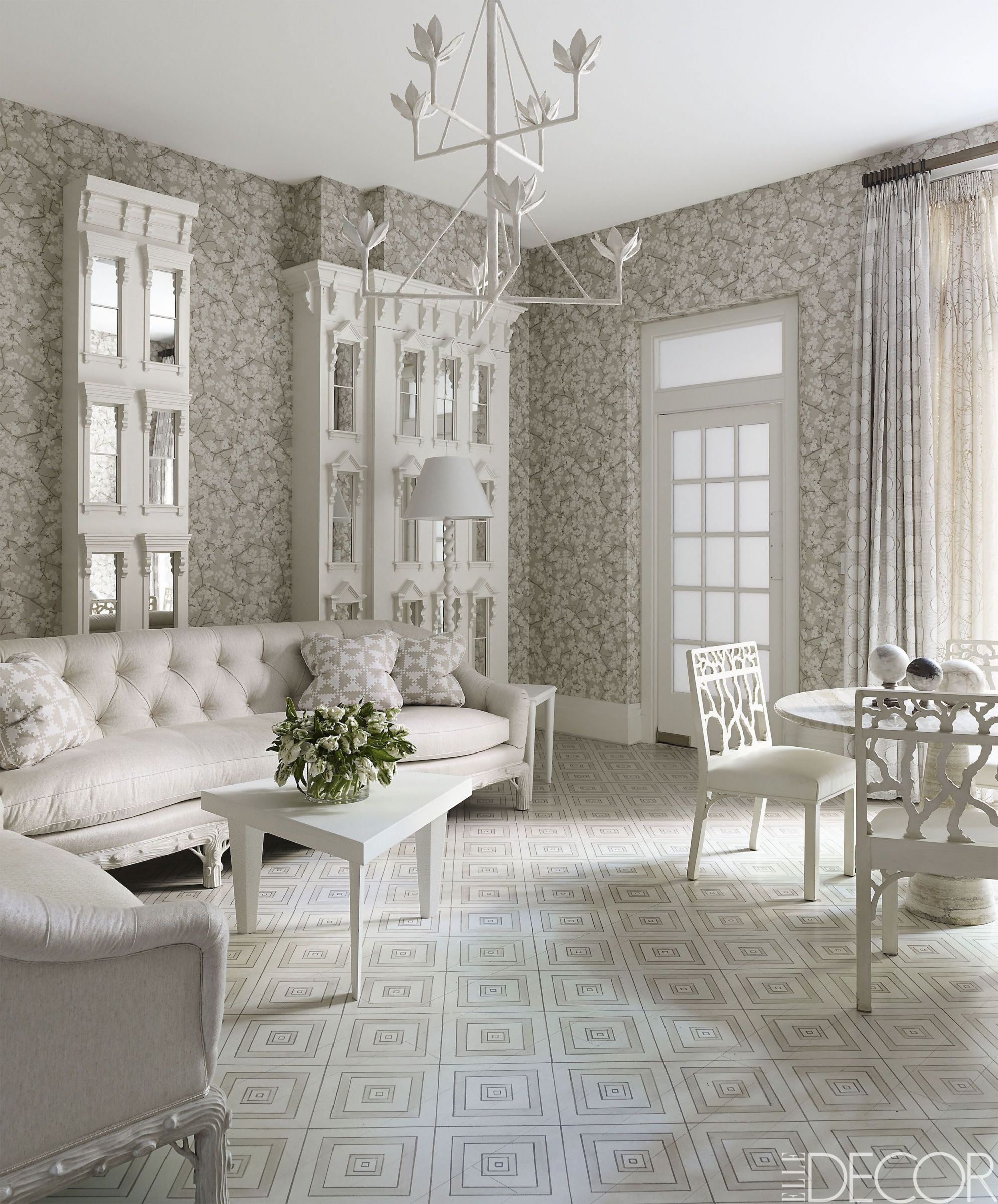 20 White Living Room Furniture Ideas – White Chairs And Couches with Modern Living Room Furniture Ideas