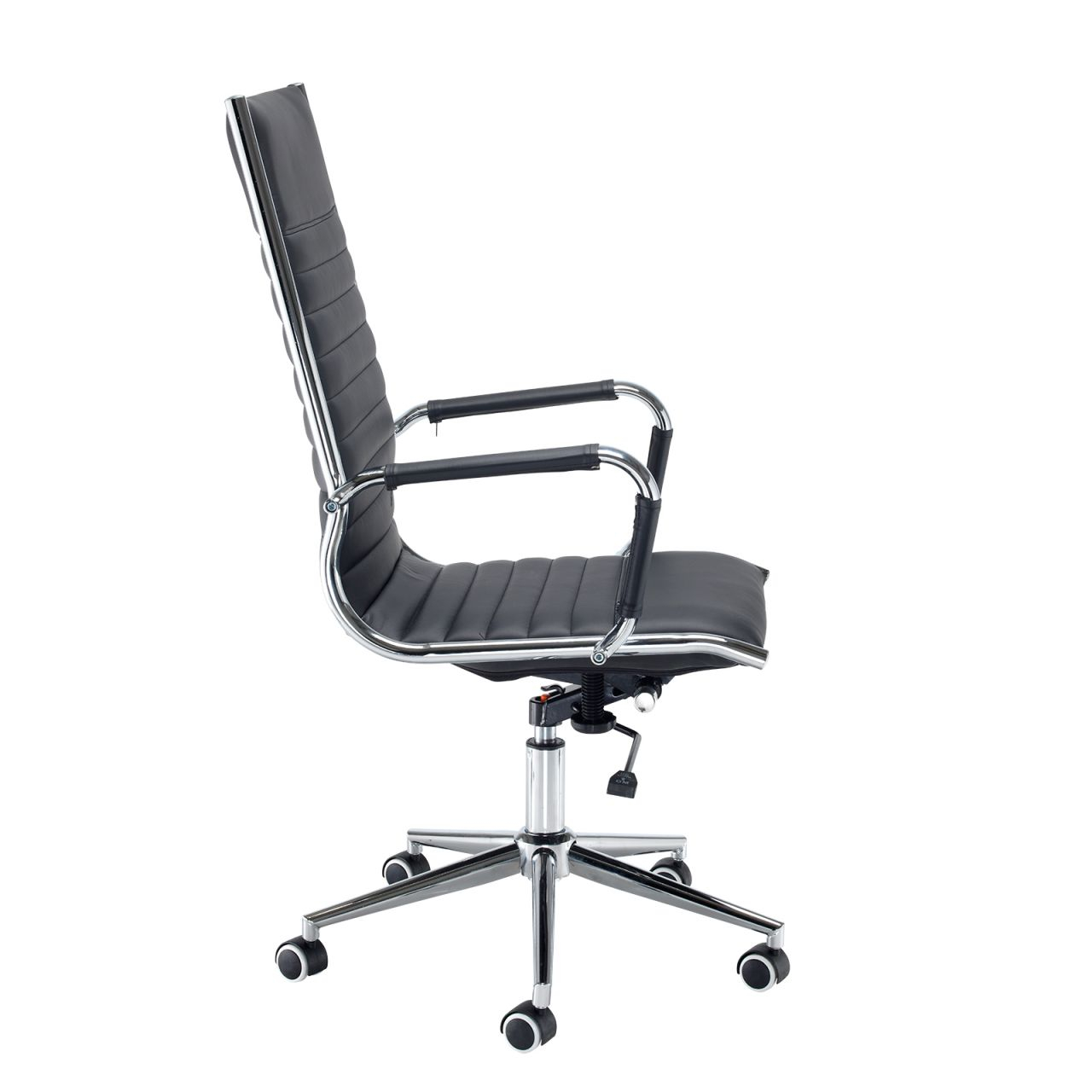 Bari High Back Office Chair regarding White Leather Office Chair