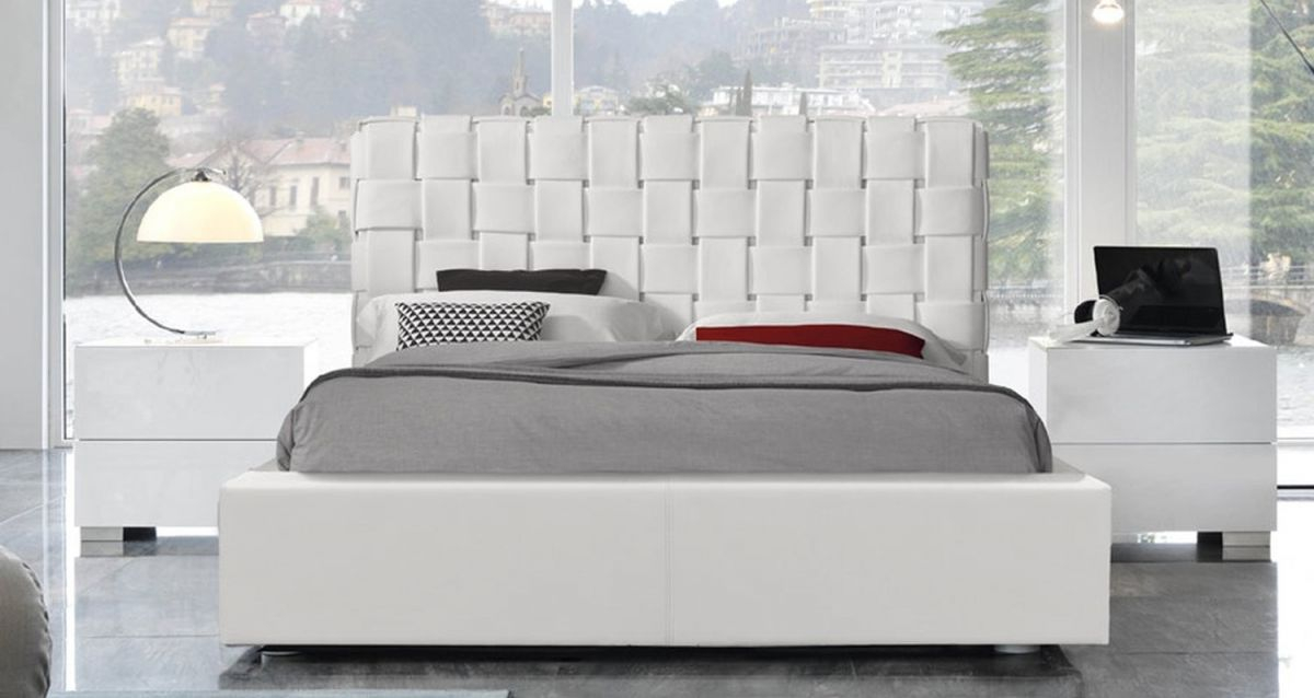 Bianca Snow White Italian Modern Beds | Contemporary Beds pertaining to Italian Modern Bedroom Furniture
