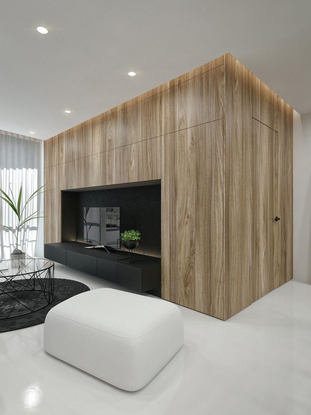 Black And White Interior Design Ideas: Modern Apartmentid White intended for Contemporary Interior Design Ideas