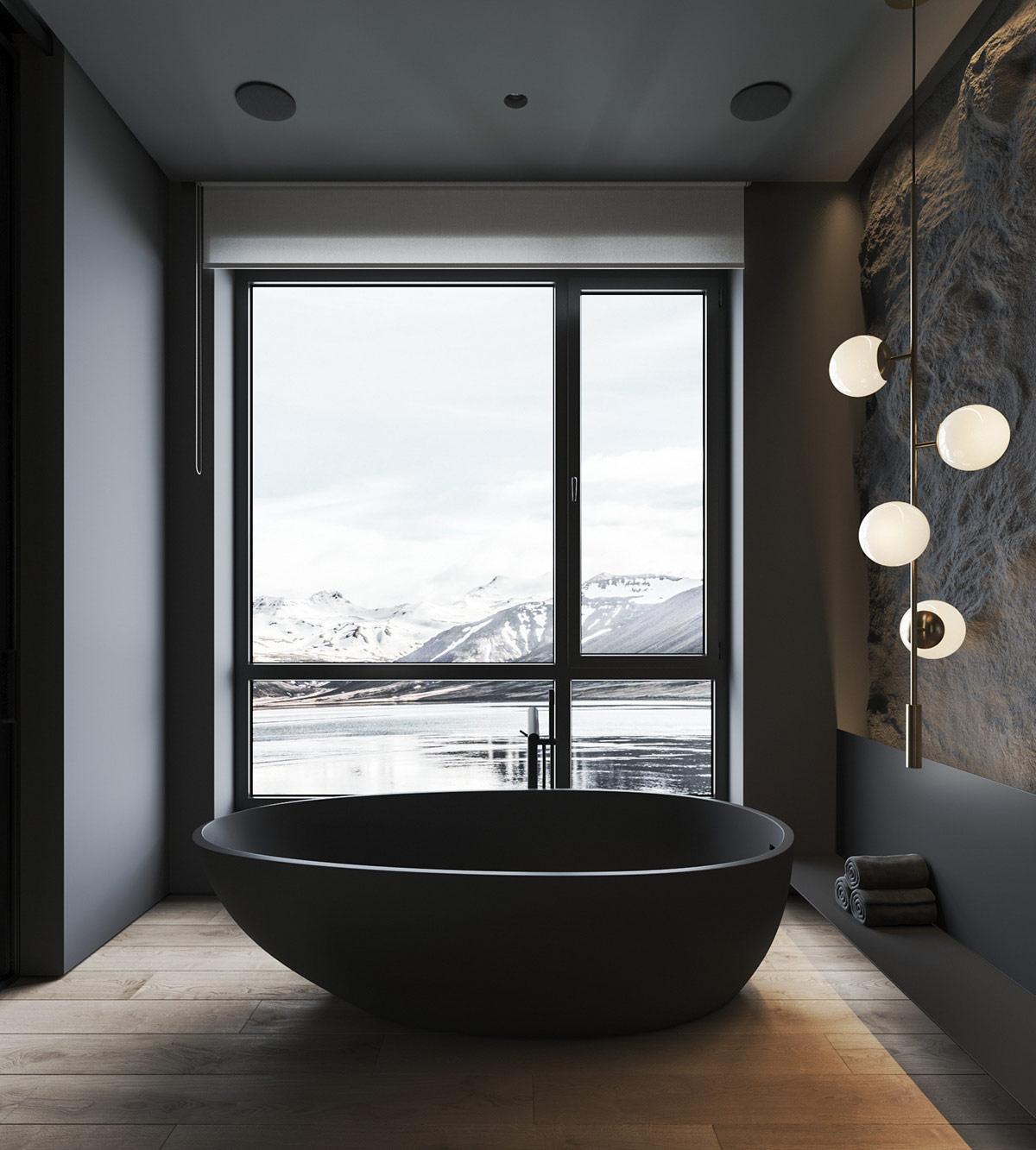 black-bathtub