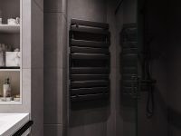 black-heated-towel-rail