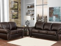 Breckenridge 2-Piece Top Grain Leather Living Room Set throughout Living Room Furniture Sets