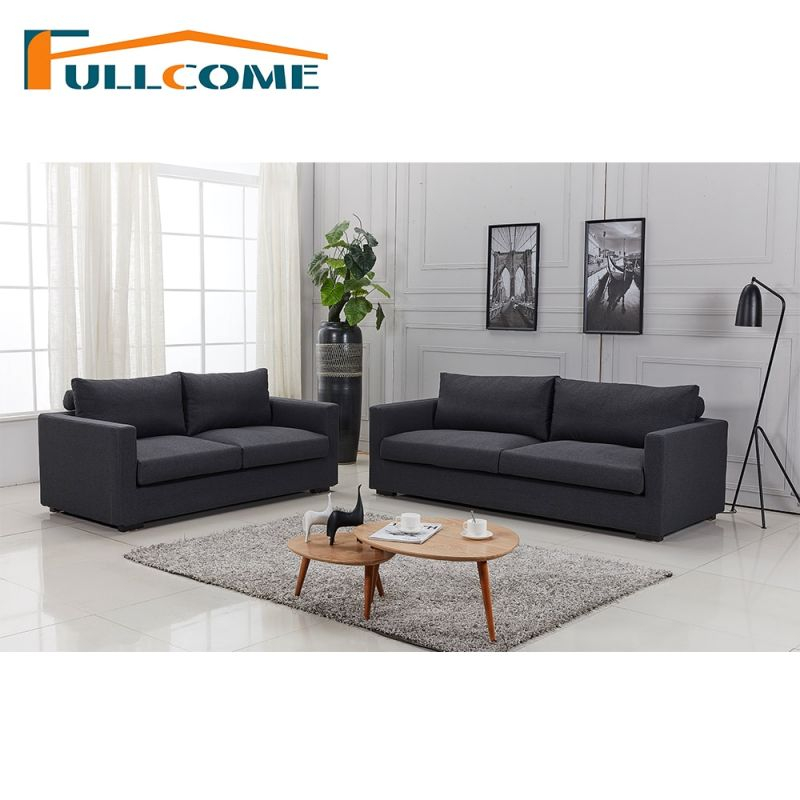 China Home Furniture Modern Leather Scandinavian Sofa Love Seat pertaining to Living Room Furniture Sets