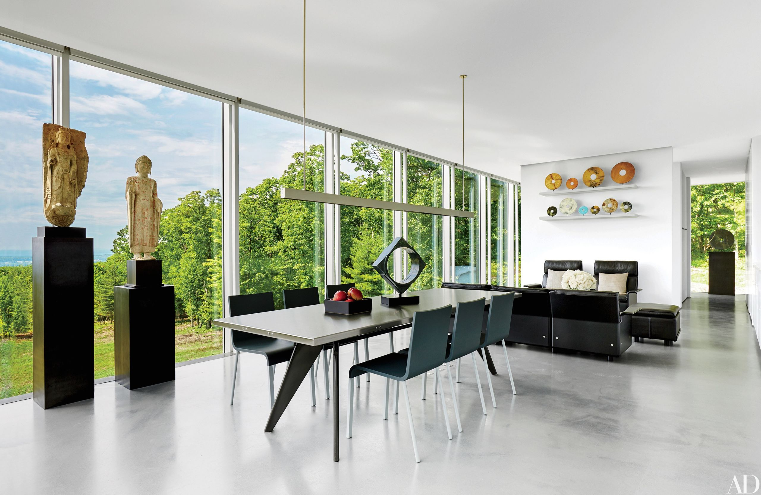 Contemporary Interior Design: 13 Striking And Sleek Rooms in Beautiful Contemporary Interior Design Ideas