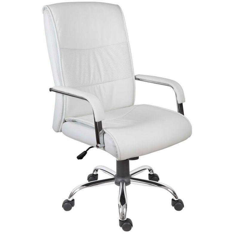 Cumbria Executive Office Chair White | Cheap Cumbria Executive inside Elegant White Leather Office Chair