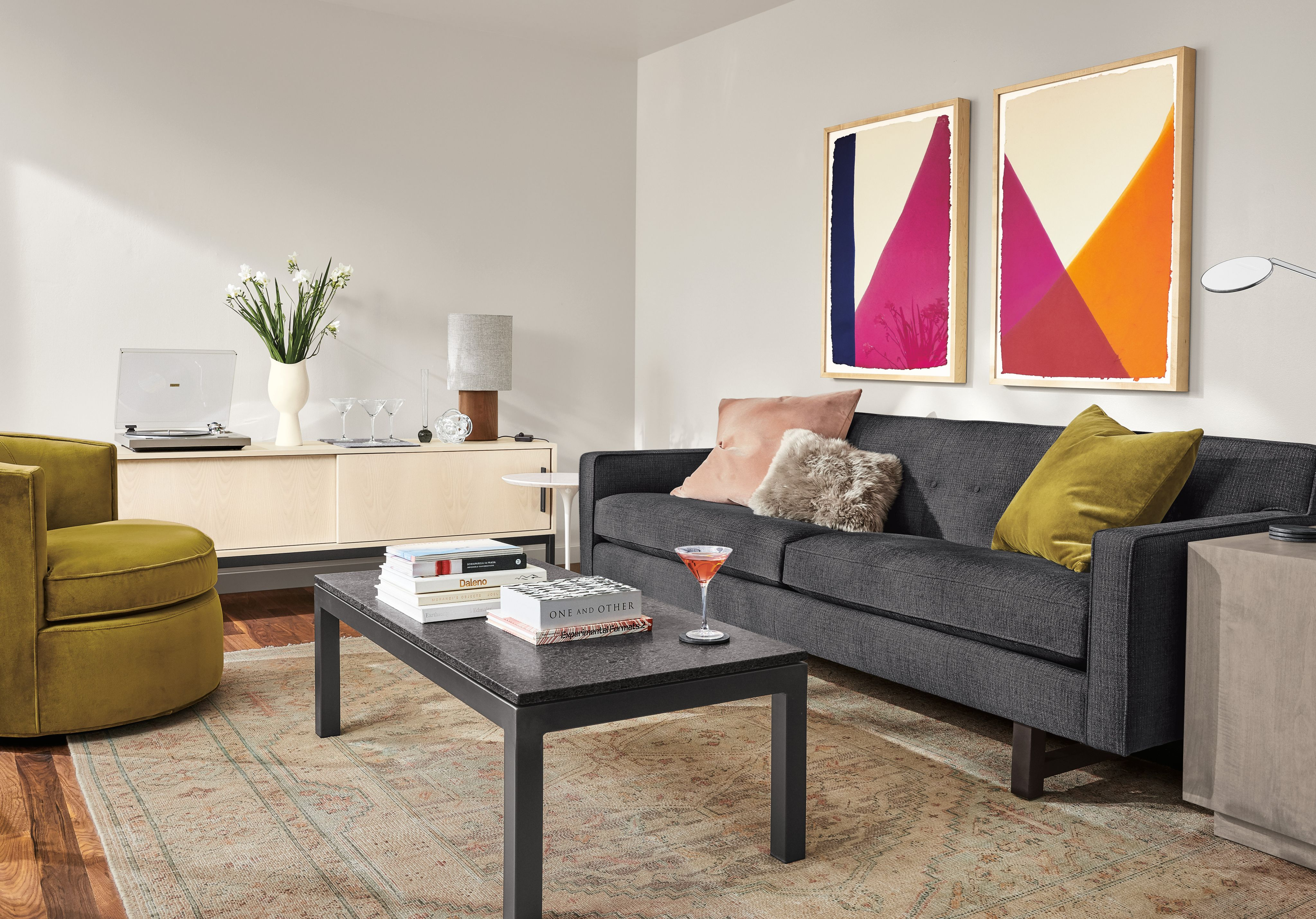 Decorating Ideas For A Small Living Room - Room & Board throughout Small Living Room Furniture