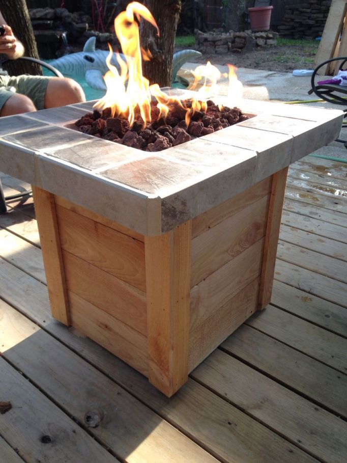 Diy Propane Fire Pit | My Weekend Projects | Diy Propane Fire Pit inside Lovely Outdoor Propane Fire Pit