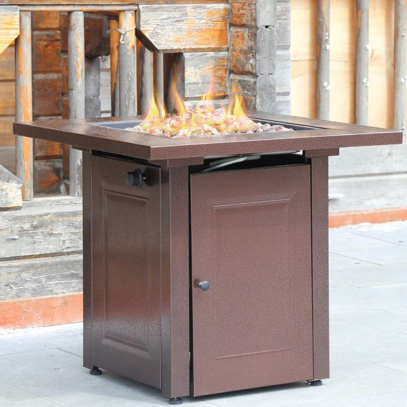 Factory Direct: Propane Fire Pit Patio Heater Antique Hammered regarding Outdoor Propane Fire Pit