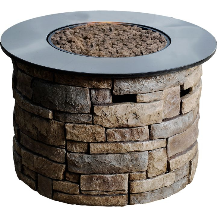 Gas Fire Pits At Lowes for Outdoor Propane Fire Pit