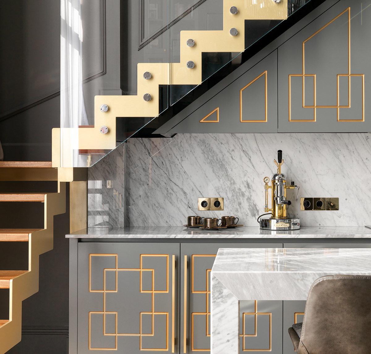 gold-and-grey-kitchen-design