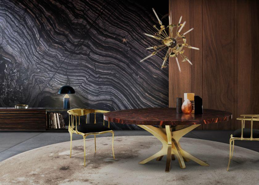 Golden Lighting Design Ideas For Modern Luxury Homes for Contemporary Interior Design Ideas
