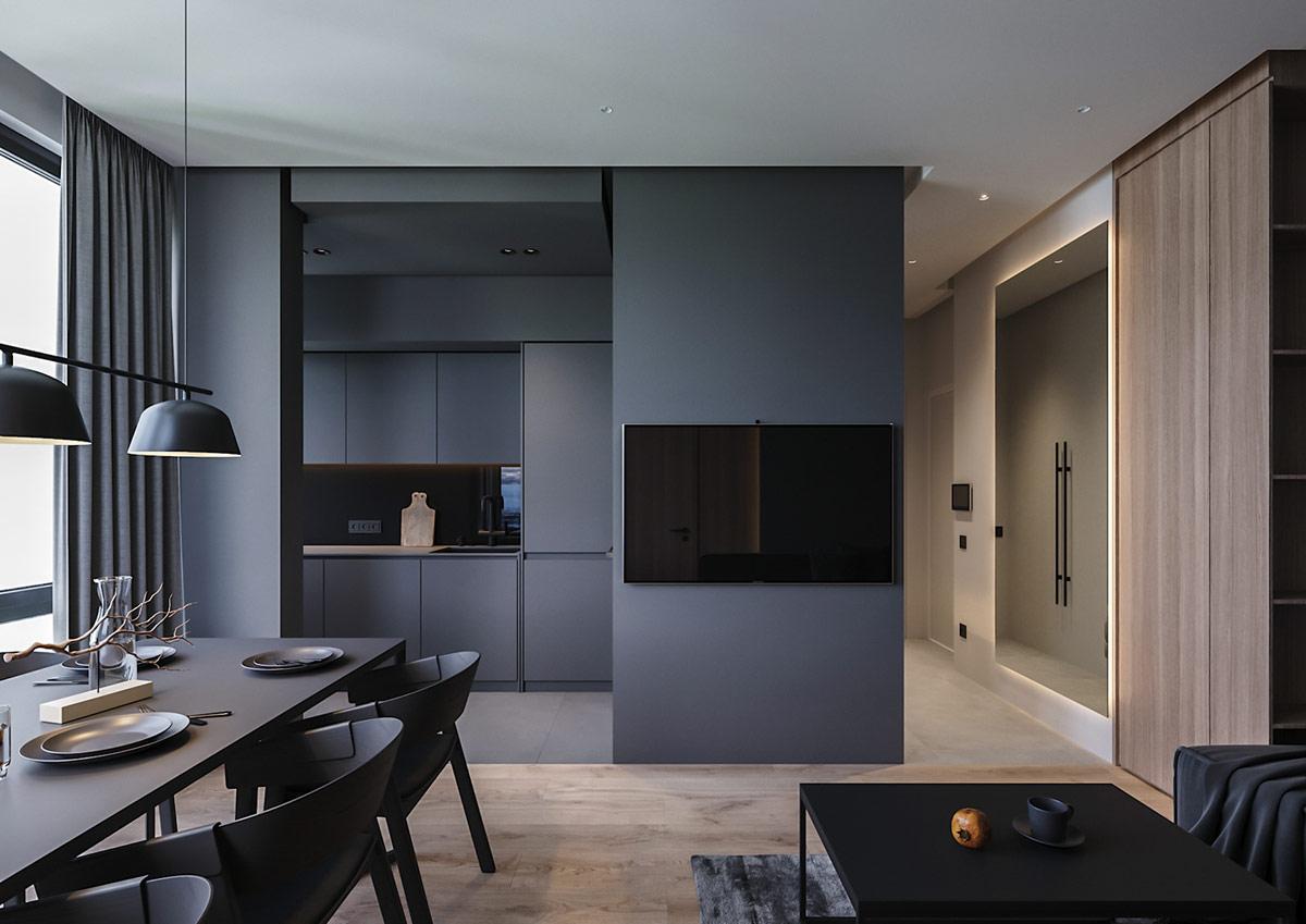 grey-tv-wall-decor