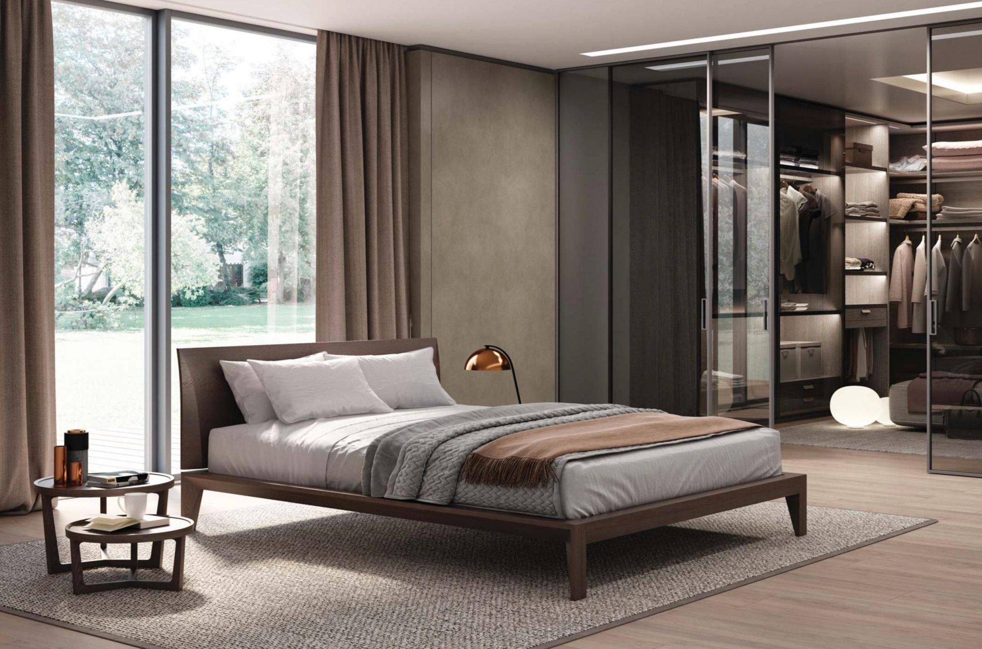 Italian Modern Wood Bed Handmade And Designed In Italy, Wood Or inside Awesome Italian Modern Bedroom Furniture