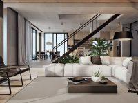 Modern Home Interior Design Arranged With Luxury Decor Ideas Looks regarding Contemporary Interior Design Ideas