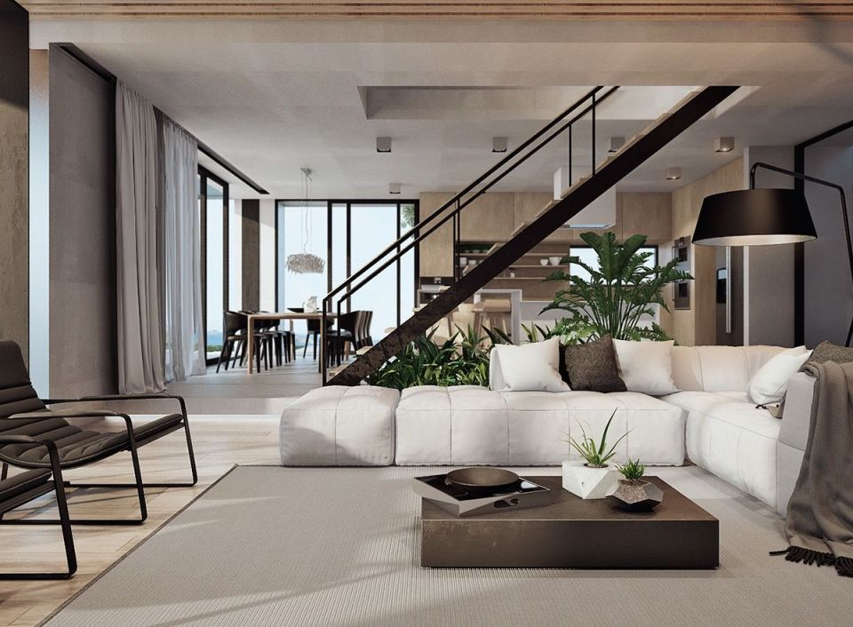 Modern Home Interior Design Arranged With Luxury Decor Ideas Looks Regarding Contemporary Interior Design Ideas Awesome Decors