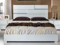 Modrest Ancona Italian Modern Bedroom Set In White | Get.furniture within Awesome Italian Modern Bedroom Furniture