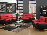 Red And Black Living Room Set | Leather Living Room Sets in Unique Living Room Furniture Sets
