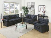 Red Barrel Studio Hayleigh 3 Piece Living Room Set & Reviews   Wayfair within Living Room Furniture Sets