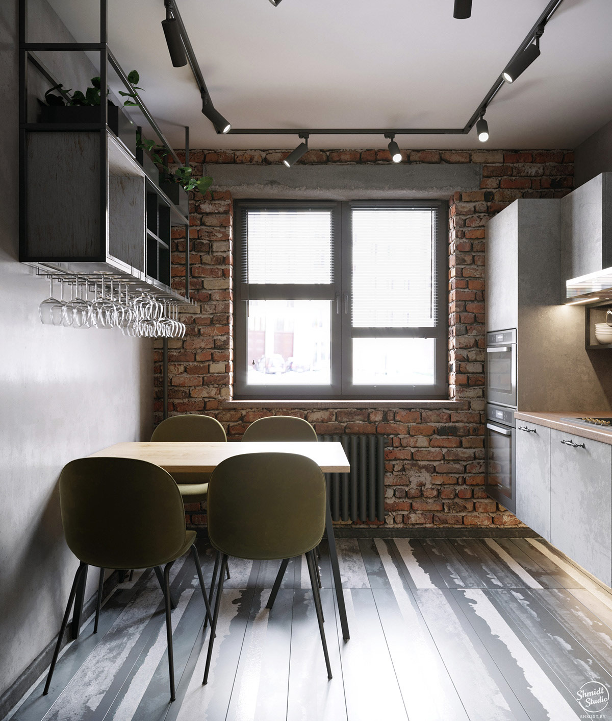 rustic-industrial-kitchen