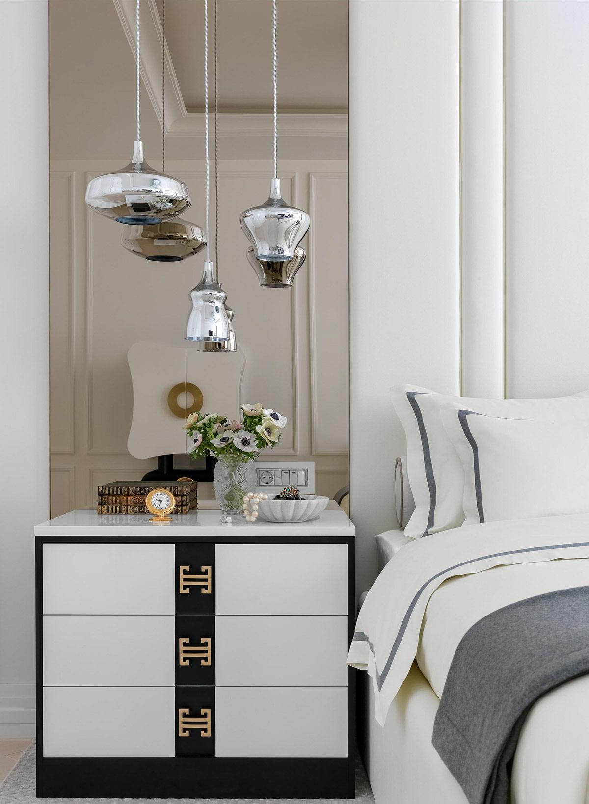 silver-bedroom-pendant-lights