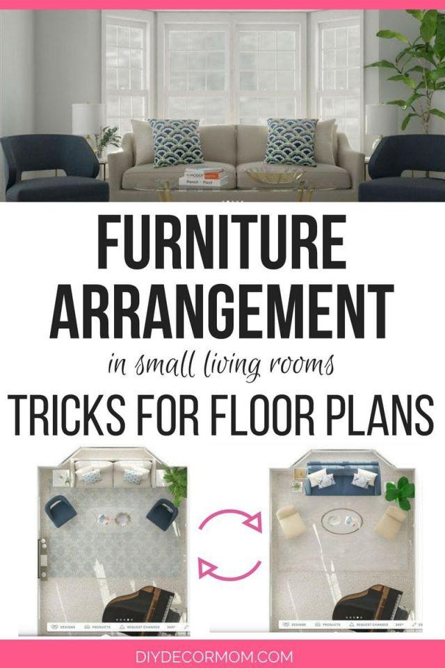 Small Living Room Furniture Arrangement: Useful Furniture Arranging pertaining to Small Living Room Furniture