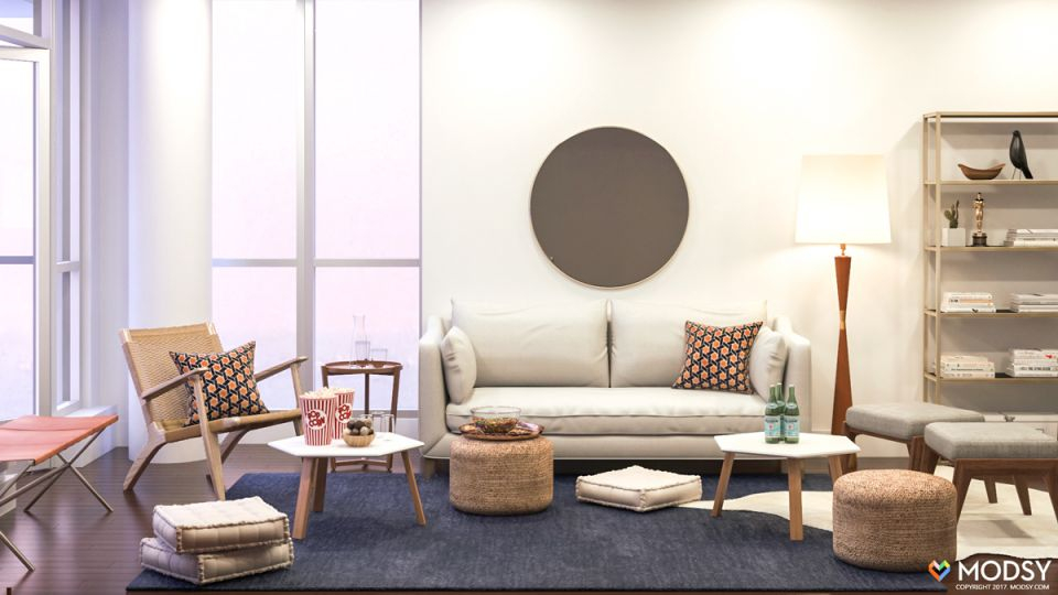 Small Living Room Layout – Hosting A Tv Viewing Party In A Small Space within Unique Small Living Room Furniture