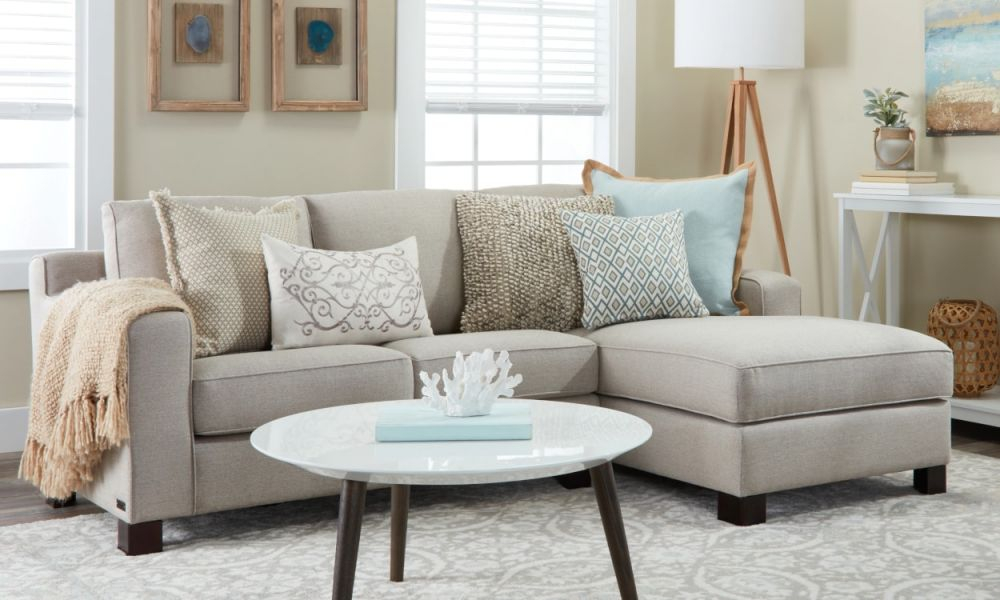 Small Sectional Sofas & Couches For Small Spaces | Overstock ...