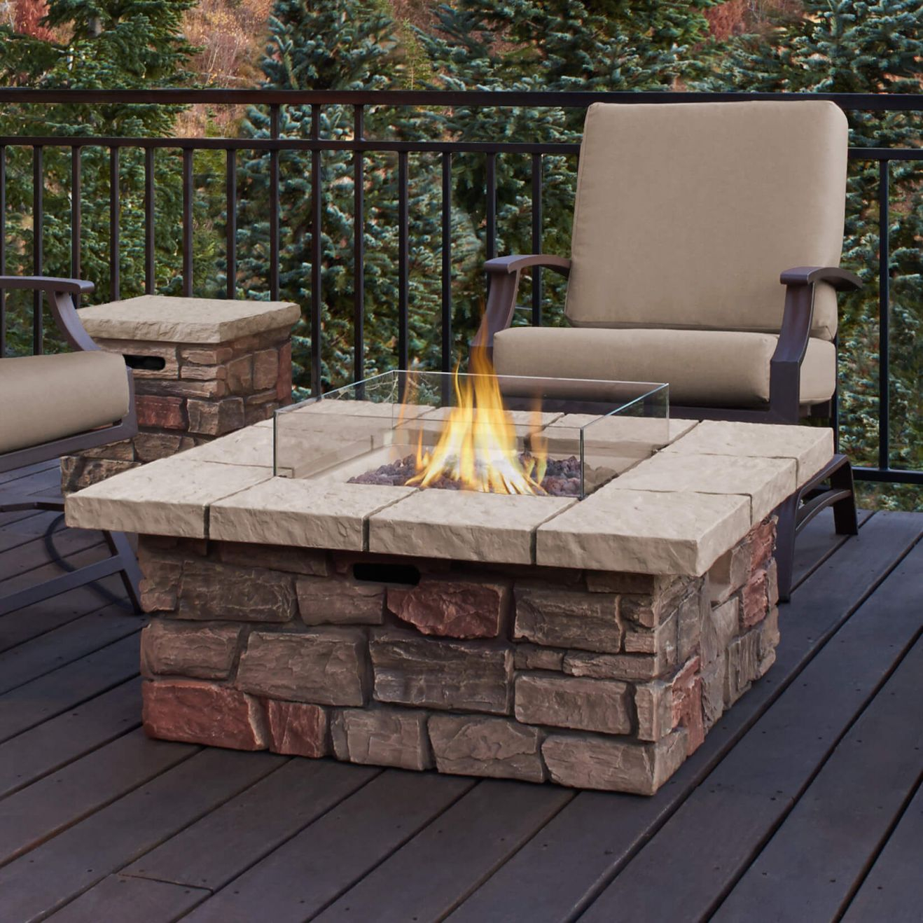 Top 15 Types Of Propane Patio Fire Pits With Table (Buying Guide) throughout Outdoor Propane Fire Pit
