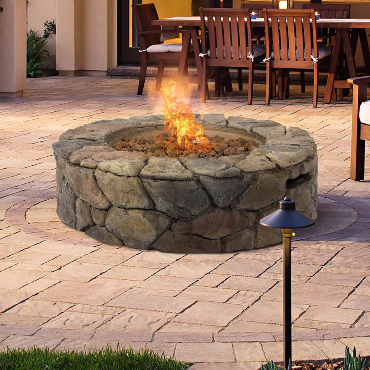 Top 15 Types Of Propane Patio Fire Pits With Table (Buying Guide) with regard to Lovely Outdoor Propane Fire Pit