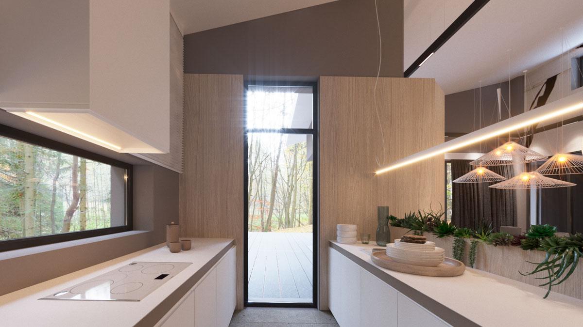white-galley-kitchen