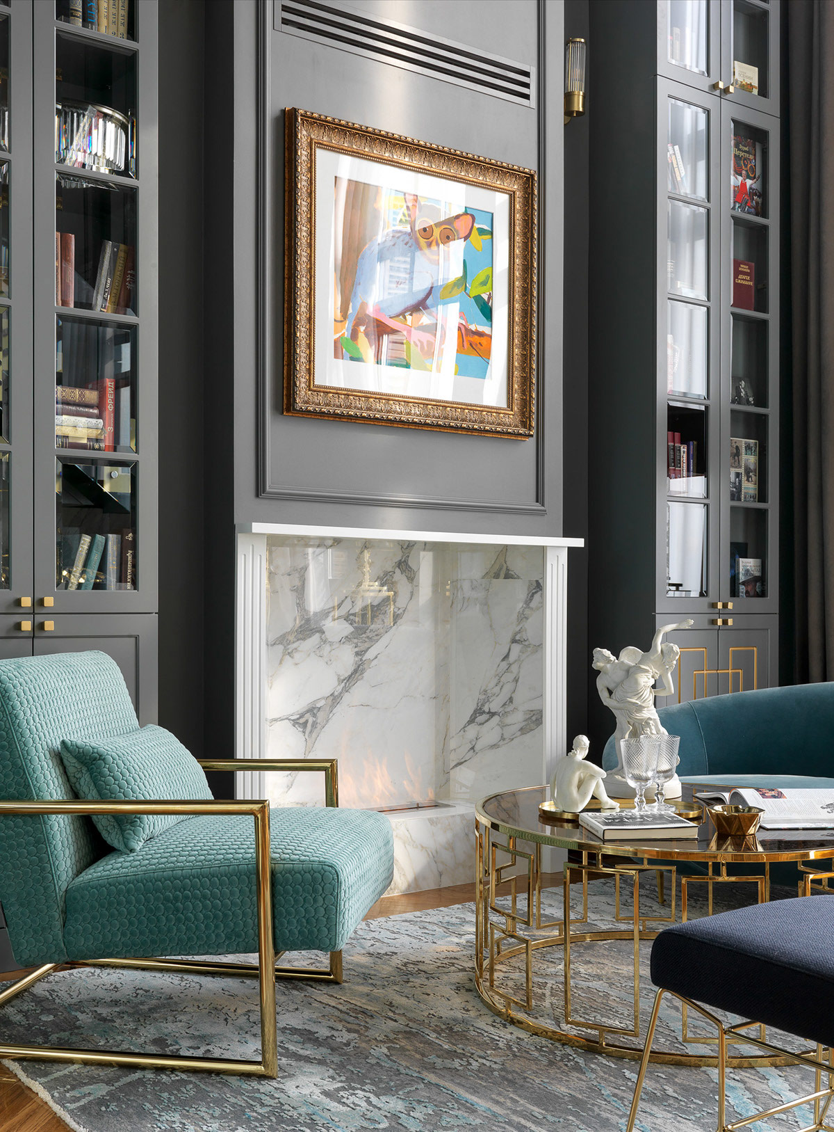 white-marble-fireplace