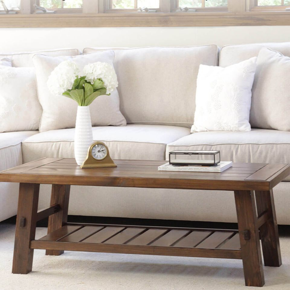 14 Super Cool Homemade Coffee Table