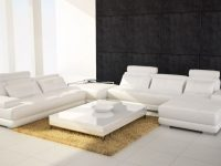 5005 Modern Brown Leather Sectional Sofa throughout Leather Sectional Modern