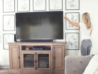 8 Creative Ways To Decorate Around Your Tv – Tuft & Trim throughout Lovely Modern Living Room Tv Wall
