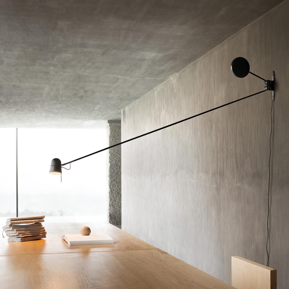 Counterbalance-Swing-Arm-LED-Wall-Light-Black-Metal-Long-Arm-Mountable