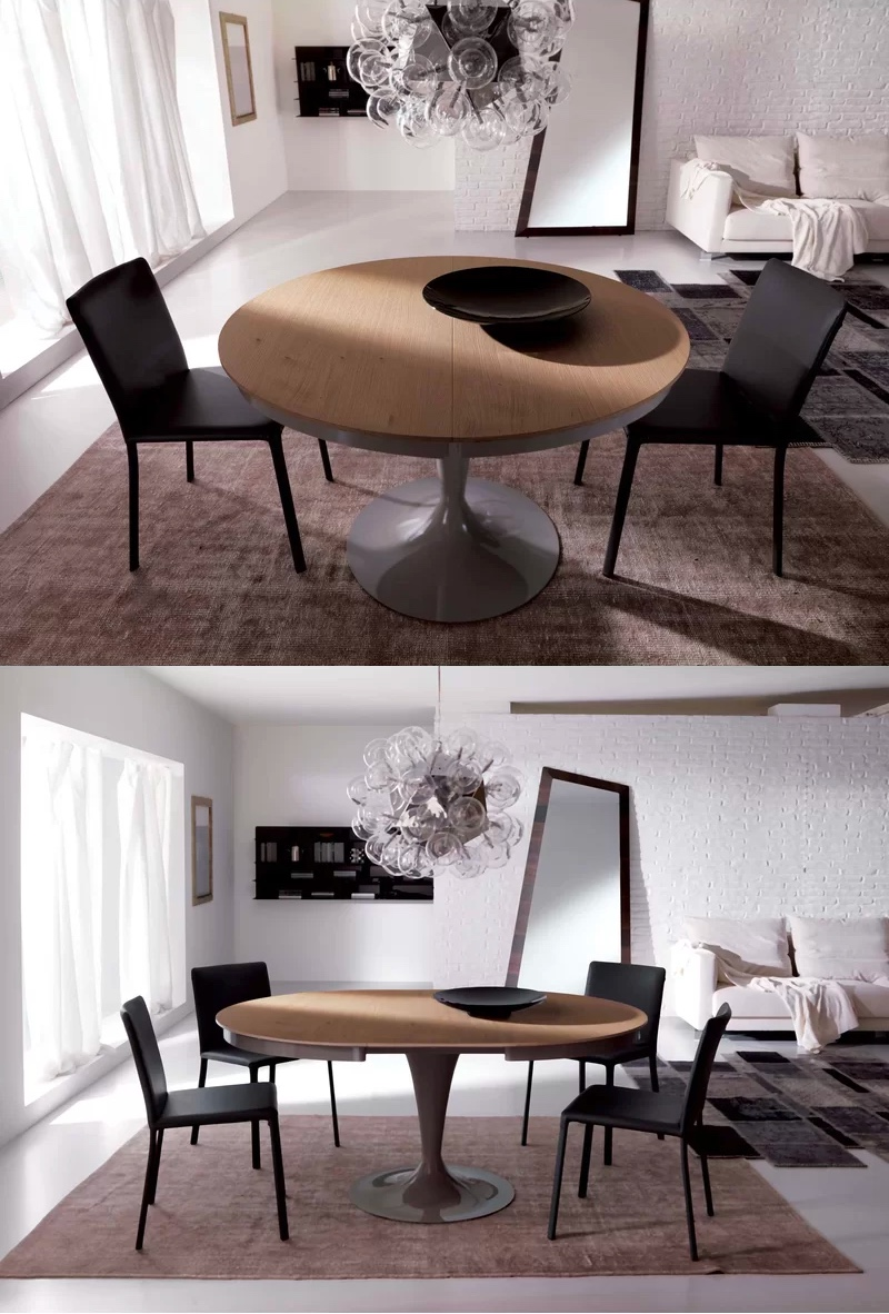 Extendable-Round-Dining-Table-Round-To-Oval-Glossy-Pedestal-Base