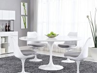 Large-60-Inch-Modern-Round-Pedestal-Dining-Table-White-Glossy-Contemporary