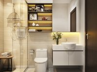 Modern-bathroom-shelving